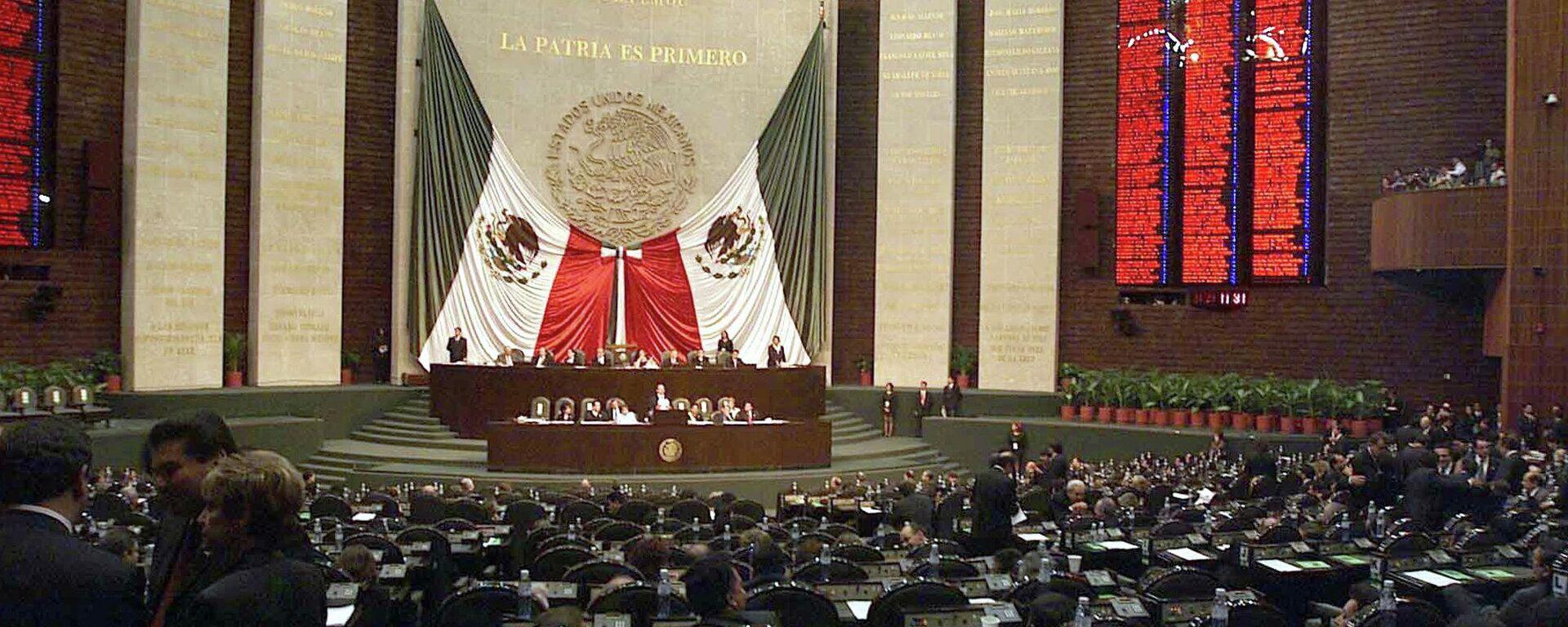 Cámara de Diputados de México - Sputnik Mundo, 1920, 14.05.2021