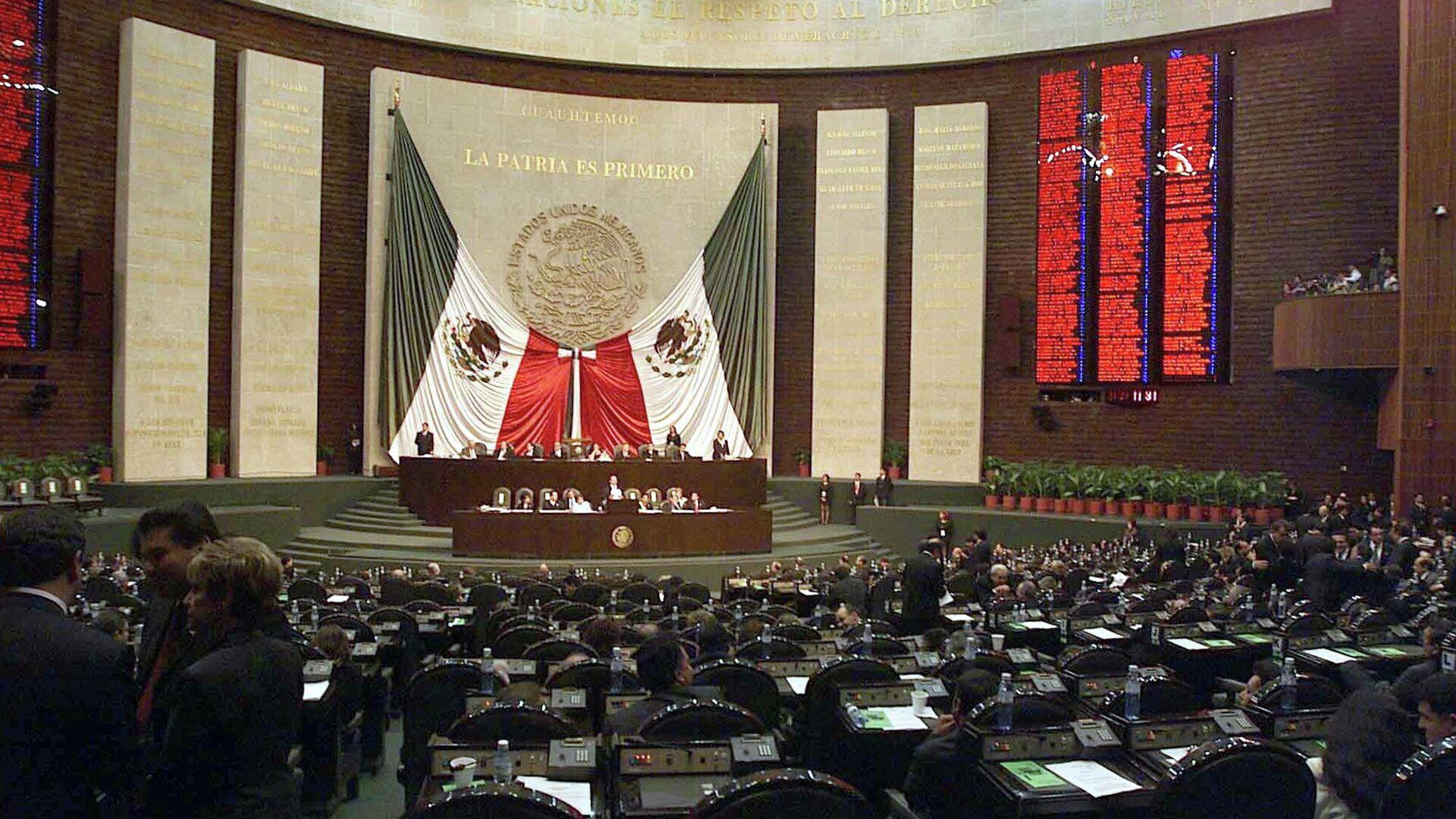Cámara de Diputados de México - Sputnik Mundo, 1920, 14.04.2021