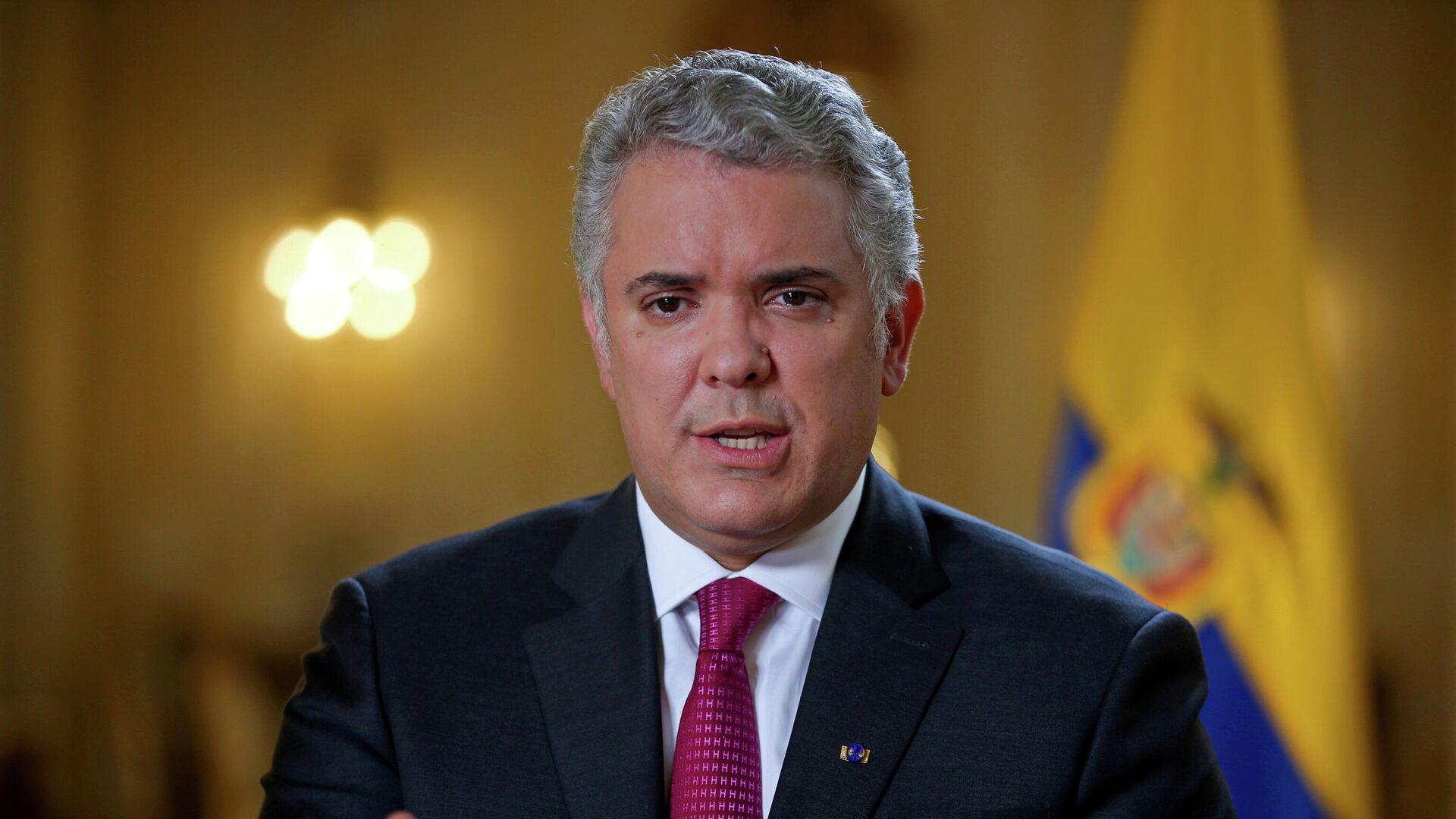 Iván Duque, presidente de Colombia - Sputnik Mundo, 1920, 01.05.2021