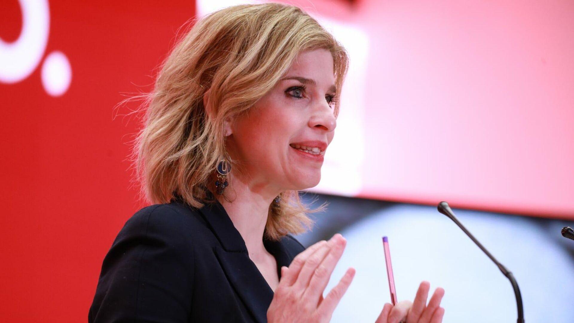 Hana Jalloul, número dos del PSOE en las listas para las elecciones de la Comunidad de Madrid - Sputnik Mundo, 1920, 15.04.2021
