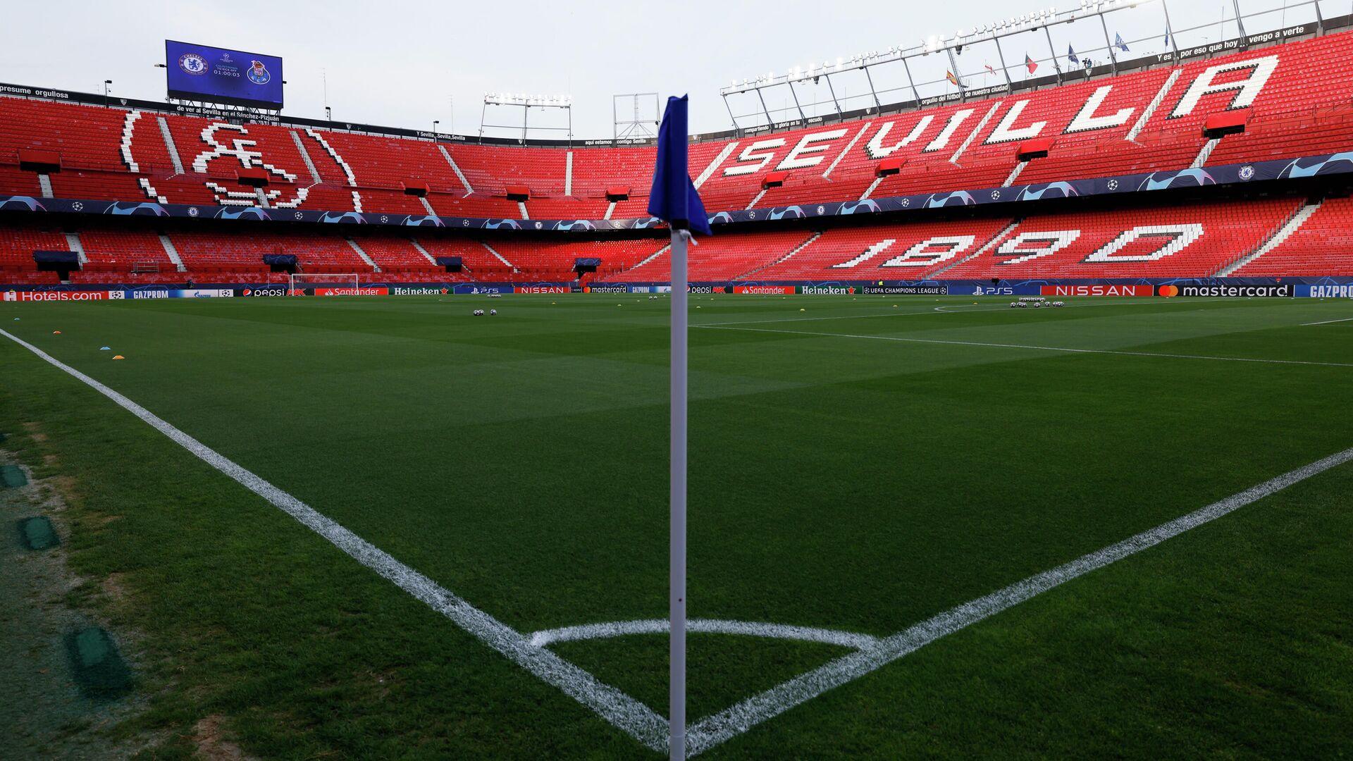 Un estadio de fútbol (imagen referencial) - Sputnik Mundo, 1920, 15.04.2021