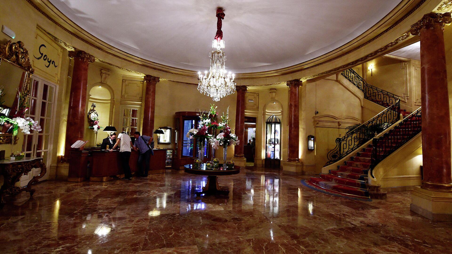 Imagen referencial del Hotel Ritz de Madrid - Sputnik Mundo, 1920, 15.04.2021
