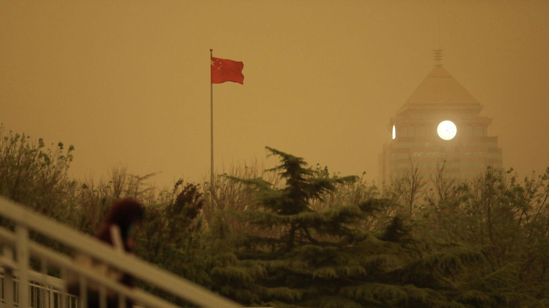 Tormenta de arena en Pekín - Sputnik Mundo, 1920, 15.04.2021