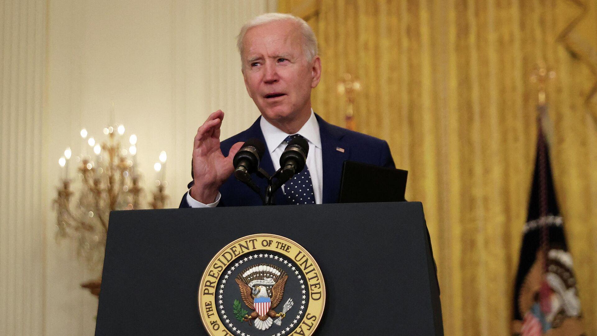 Joe Biden, presidente de EEUU - Sputnik Mundo, 1920, 30.04.2021