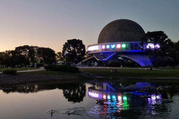 El futurístico domo, una de las construcciones icónicas de Buenos Aires, se encuentra en los parques de Palermo - Sputnik Mundo