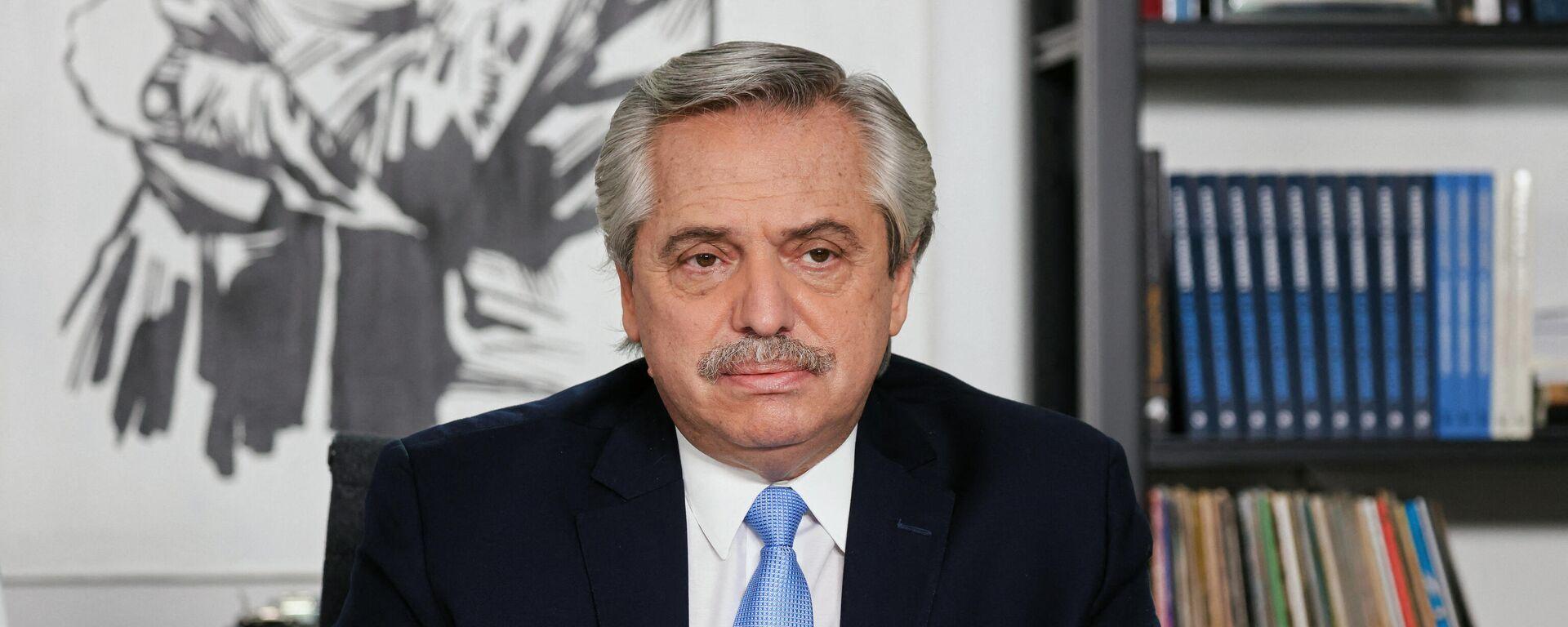 Alberto Fernández, presidente de Argentina - Sputnik Mundo, 1920, 07.05.2021