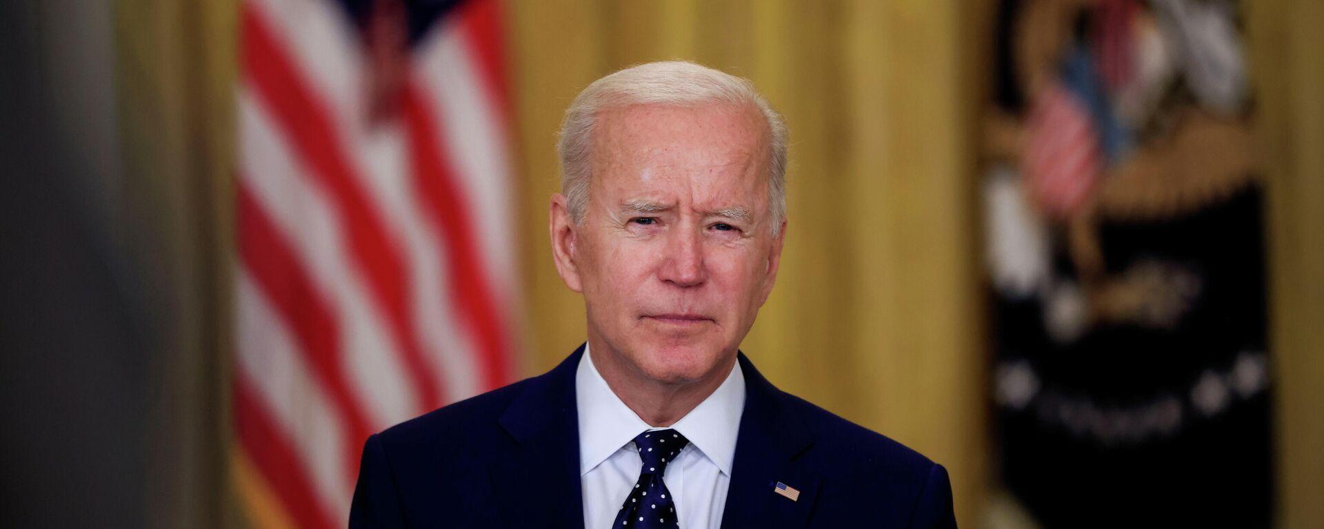 El presidente de EEUU, Joe Biden, pronuncia un discurso sobre Rusia - Sputnik Mundo, 1920, 16.04.2021