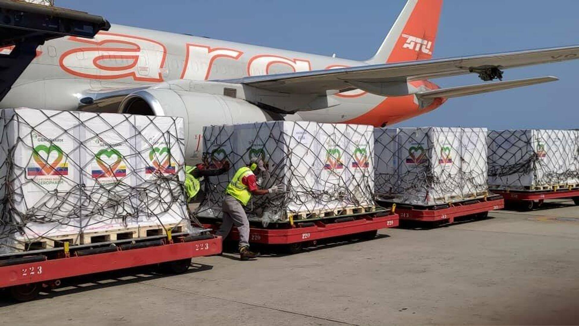 Arriba a Venezuela un cargamento con 870.000 dosis de insulina - Sputnik Mundo, 1920, 16.04.2021