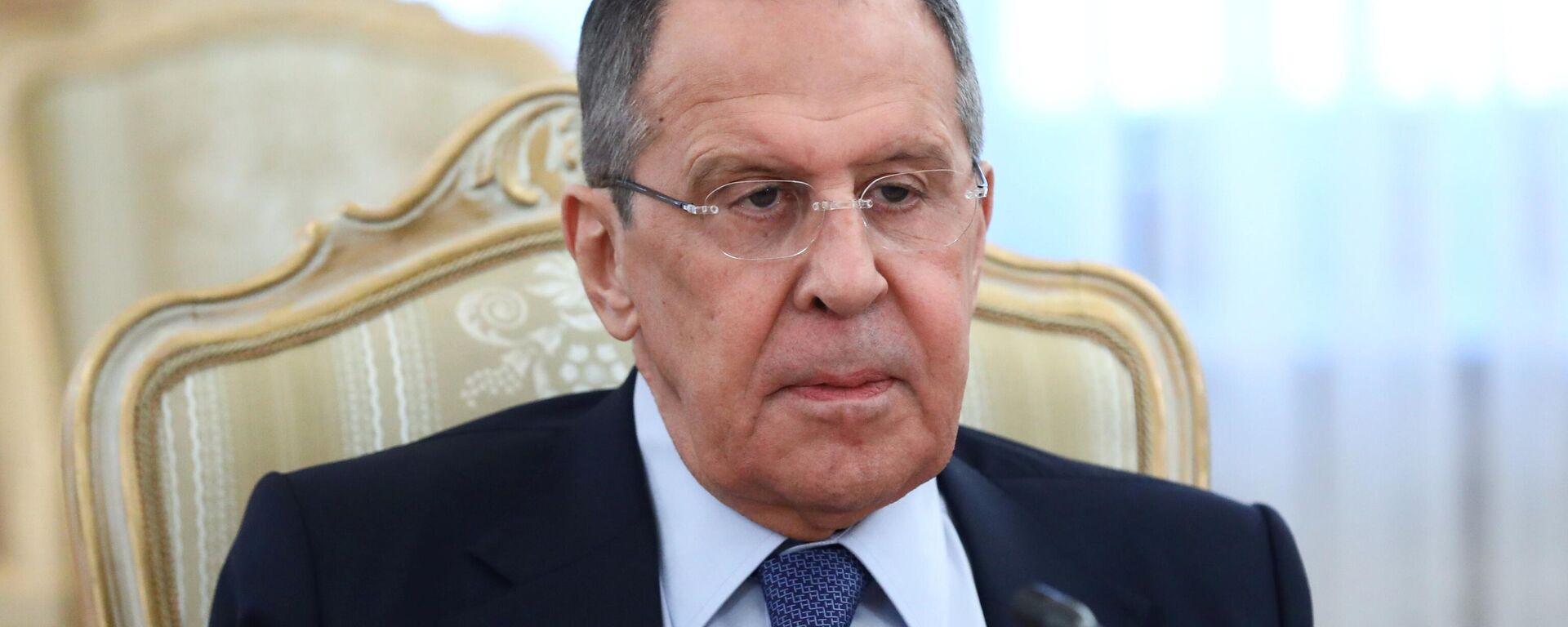 Serguéi Lavrov, el ministro ruso de Exteriores - Sputnik Mundo, 1920, 07.07.2021
