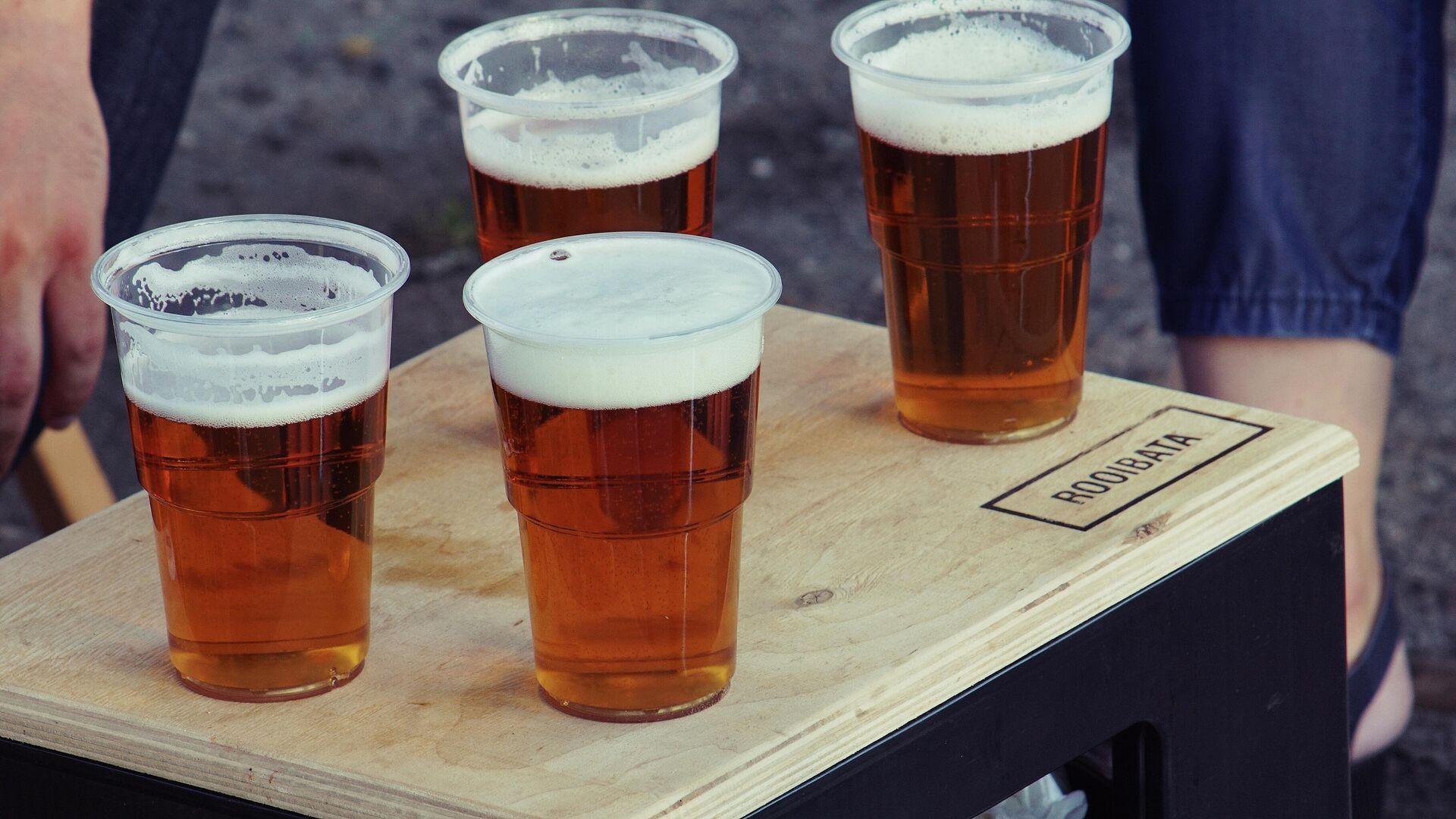 Unos vasos de cerveza - Sputnik Mundo, 1920, 16.04.2021
