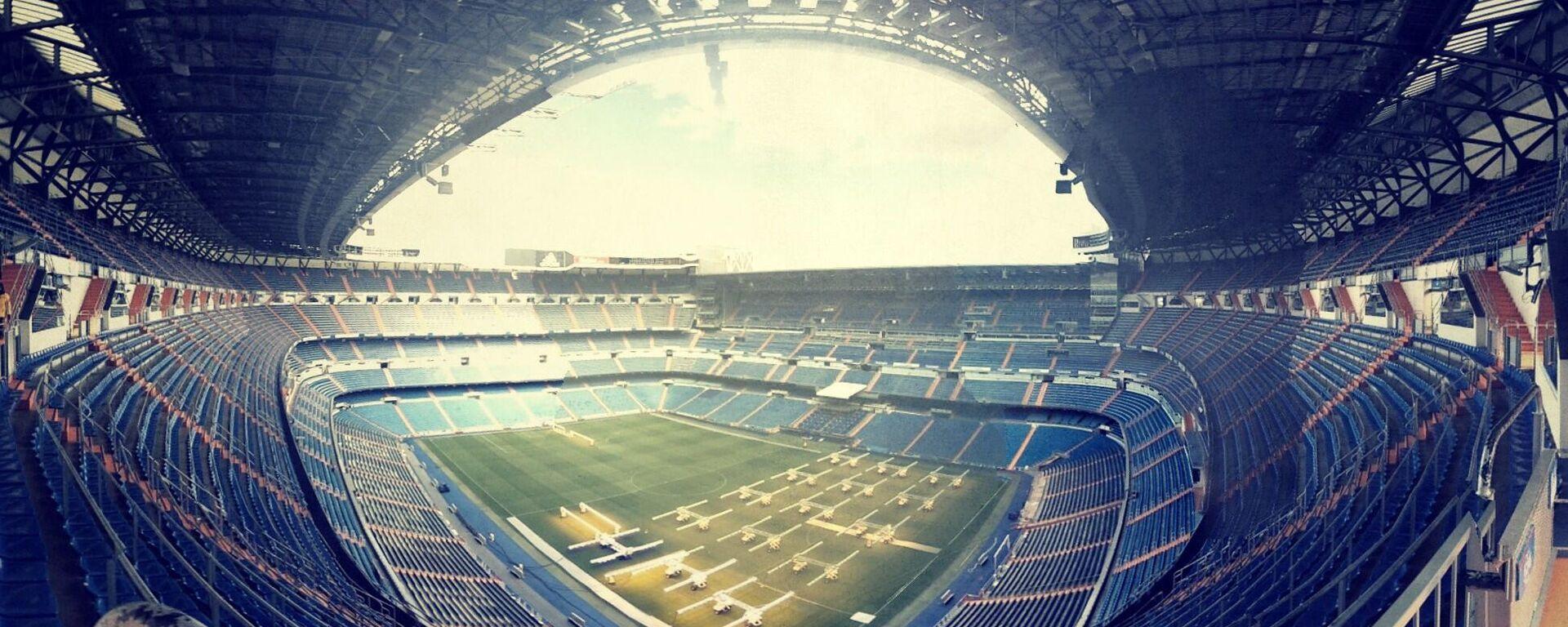 El estadio Santiago Bernabéu de Real Madrid - Sputnik Mundo, 1920, 19.04.2021