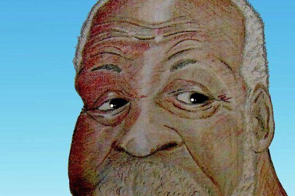 Caricatura de Jorge Sánchez Armas que concursa en Caricatura Personal (actor Danny Glover) - Sputnik Mundo