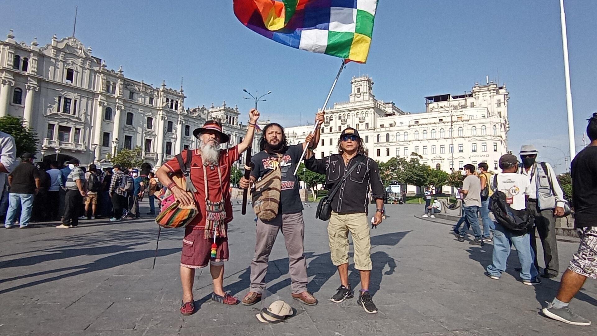 Movilización de los seguidores de Pedro Castillo en Lima - Sputnik Mundo, 1920, 18.04.2021