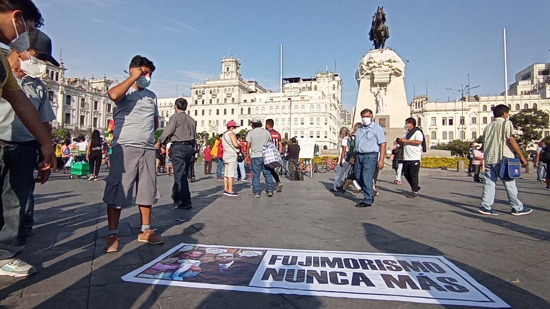 Movilización de los seguidores de Pedro Castillo en Lima - Sputnik Mundo, 1920, 30.04.2021