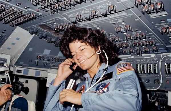 Sally K. Ride, astronauta estadounidense - Sputnik Mundo