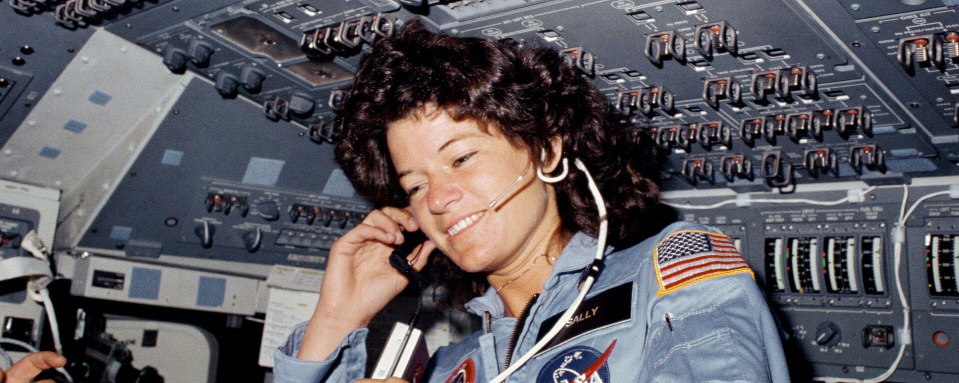 Sally K. Ride, astronauta estadounidense - Sputnik Mundo, 1920, 19.04.2021