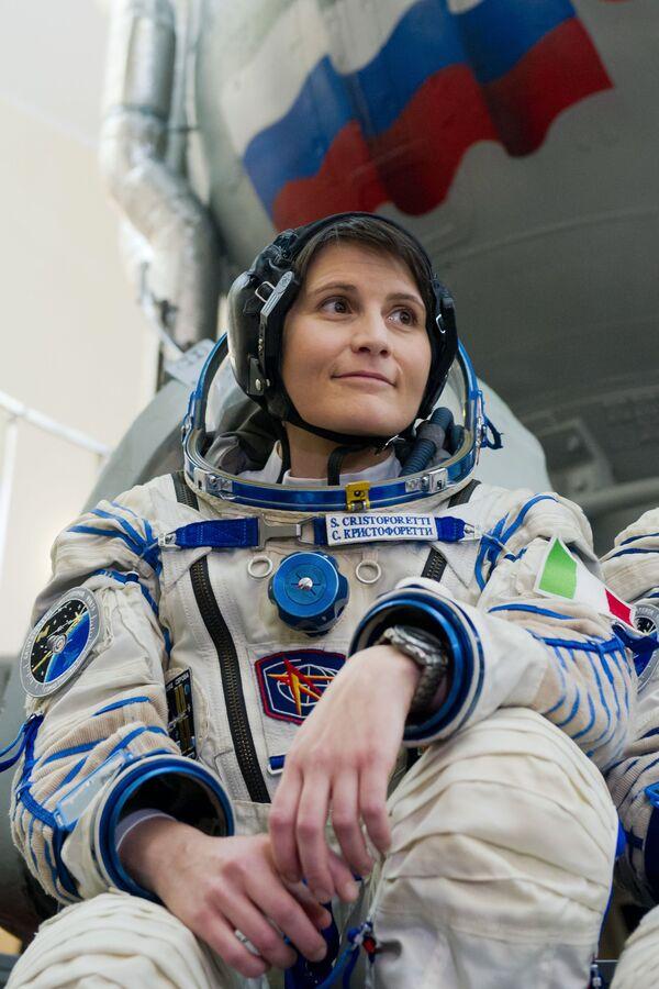 Samantha Cristoforetti  - Sputnik Mundo