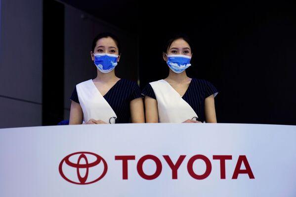 El stand de Toyota en el XIX Salón Internacional del Automóvil de Shanghái. - Sputnik Mundo