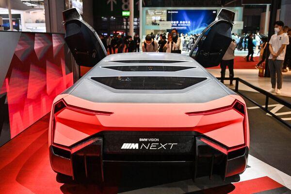 El BMW Vision Next en el XIX Salón Internacional del Automóvil de Shanghái. - Sputnik Mundo