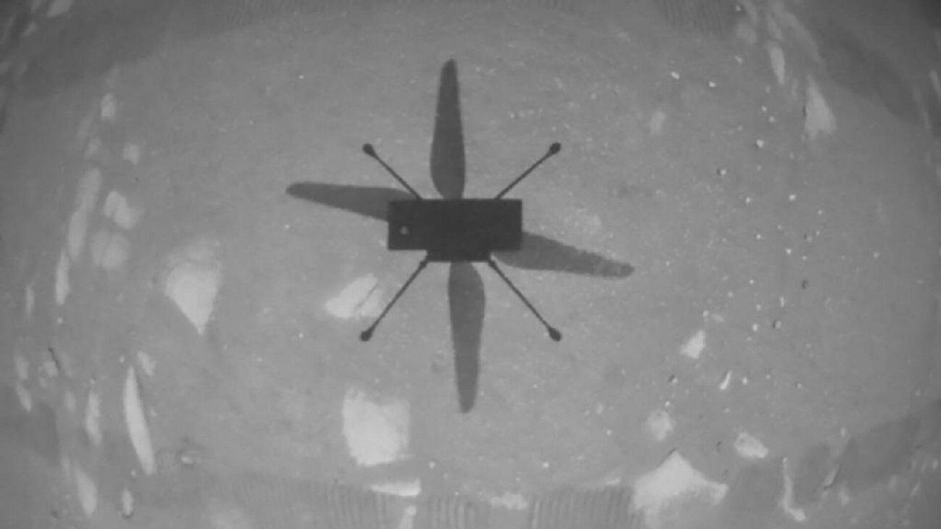 El helicóptero Ingenuity Mars sobre la superficie marciana - Sputnik Mundo, 1920, 28.05.2021