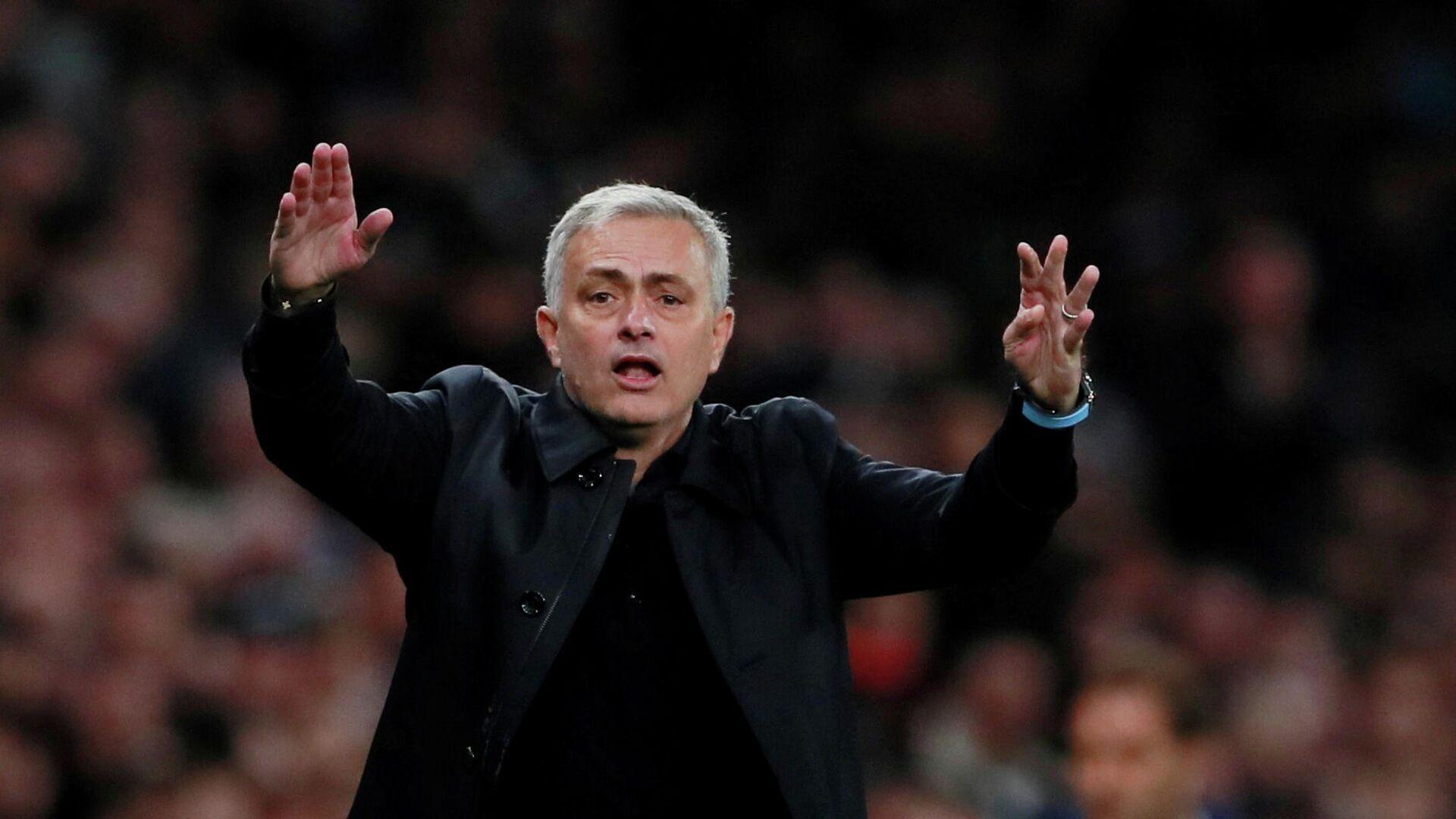 José Mourinho, técnico de fútbol - Sputnik Mundo, 1920, 19.04.2021