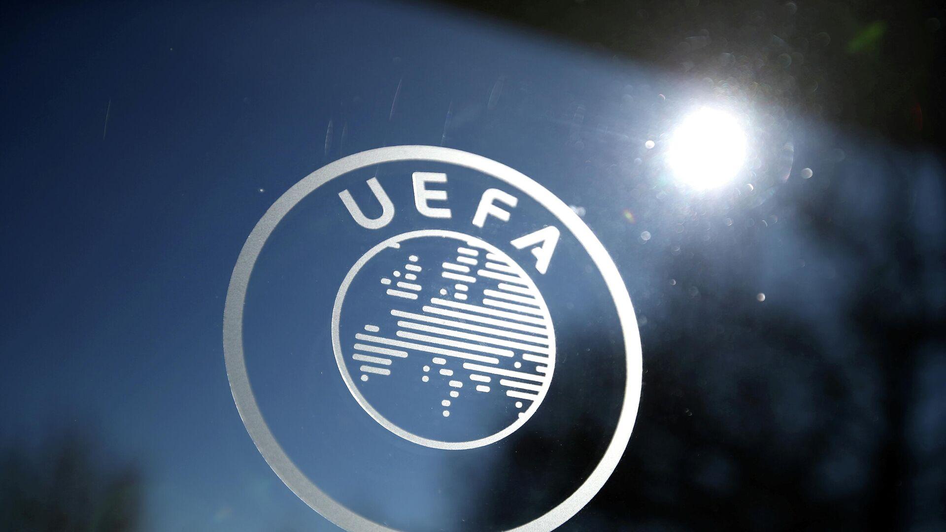 Logo de la UEFA - Sputnik Mundo, 1920, 20.04.2021