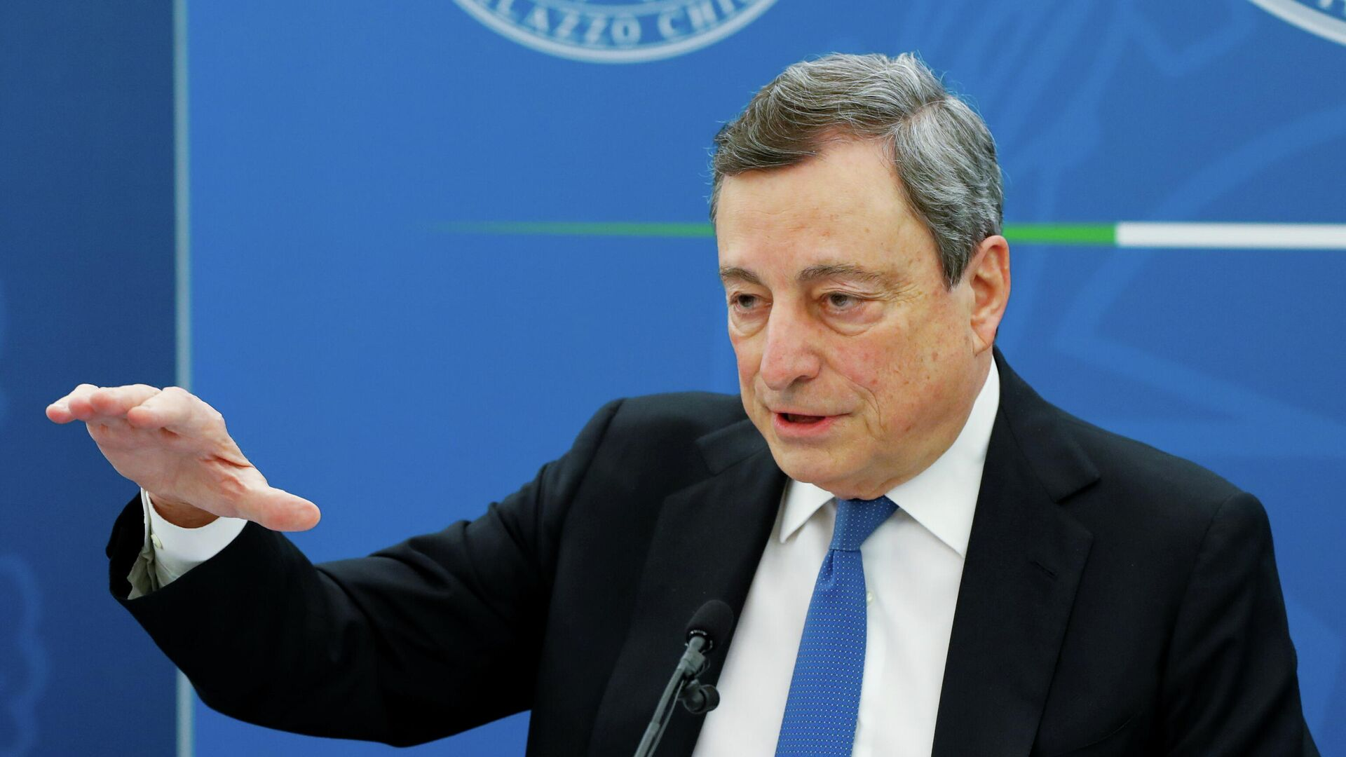 Mario Draghi, primer ministro de Italia - Sputnik Mundo, 1920, 19.04.2021