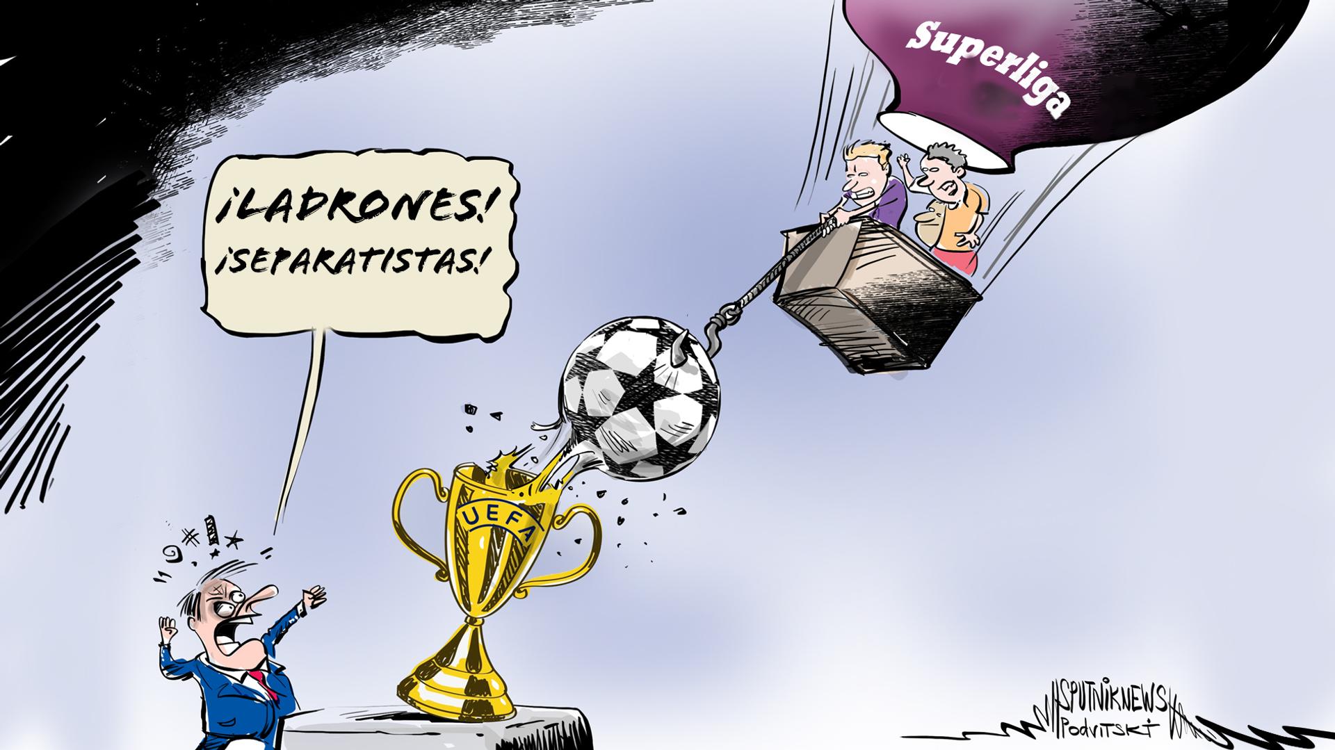 La Superliga, la manzana de la discordia que divide al fútbol europeo - Sputnik Mundo, 1920, 19.04.2021