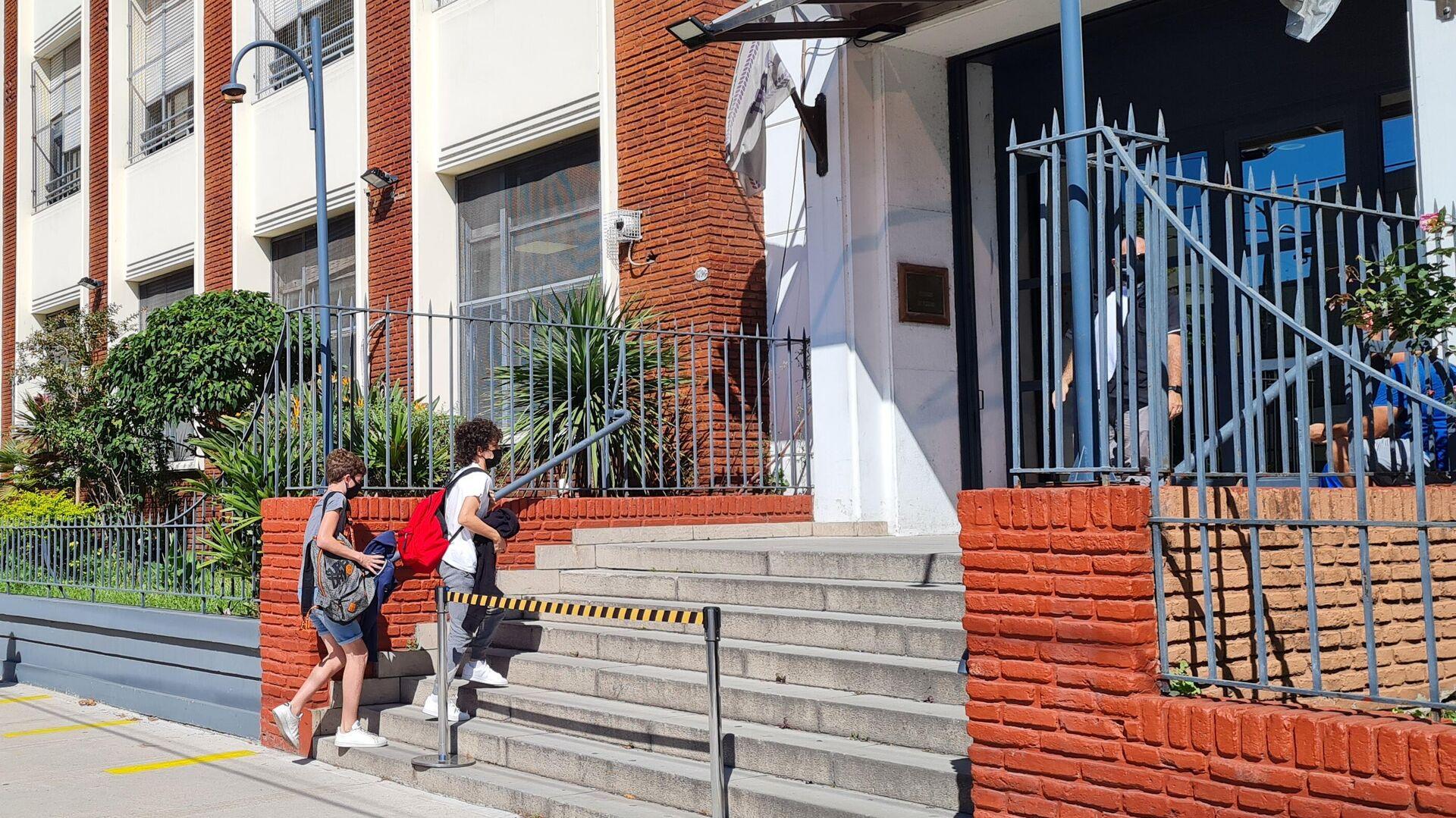El Gobierno porteño autorizó las clases en las escuelas en rechazo al decreto presidencial - Sputnik Mundo, 1920, 19.04.2021