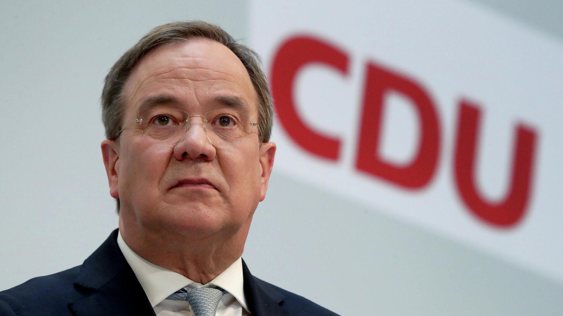 Armin Laschet, presidente del partido Unión Demócrata Cristiana de Alemania (CDU) - Sputnik Mundo, 1920, 19.04.2021