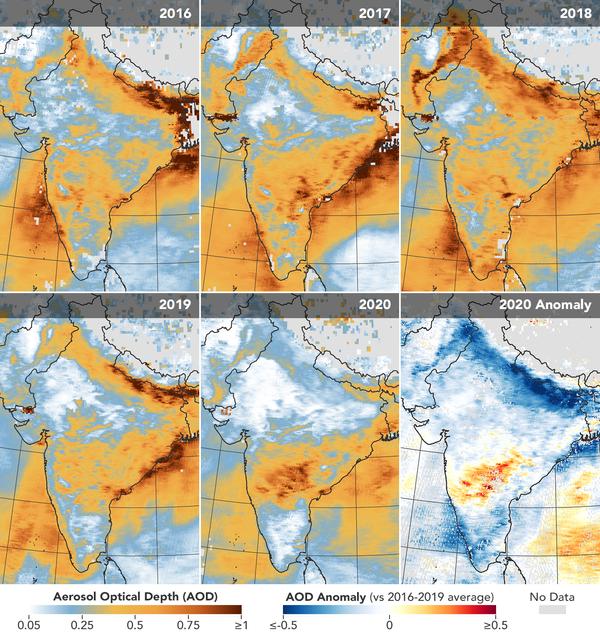 Contaminación atomosférica en India - Sputnik Mundo