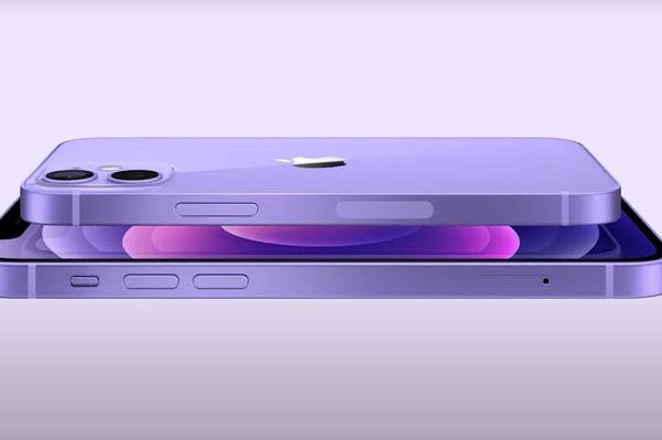 El iPhone 12 y el iPhone 12 mini en color púrpura - Sputnik Mundo