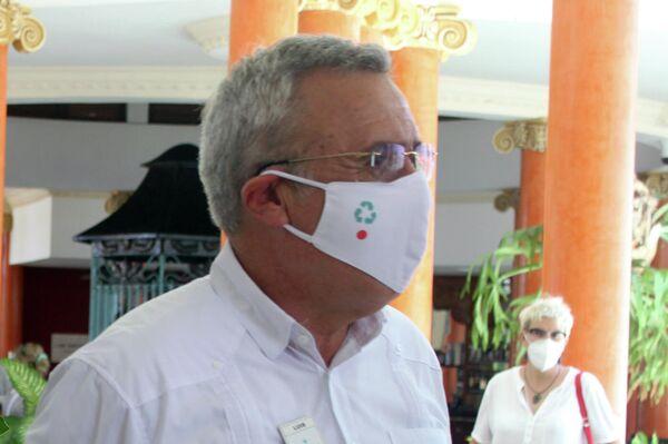 Luis Alberto Heras, director del hotel Iberostar Selection Varadero - Sputnik Mundo