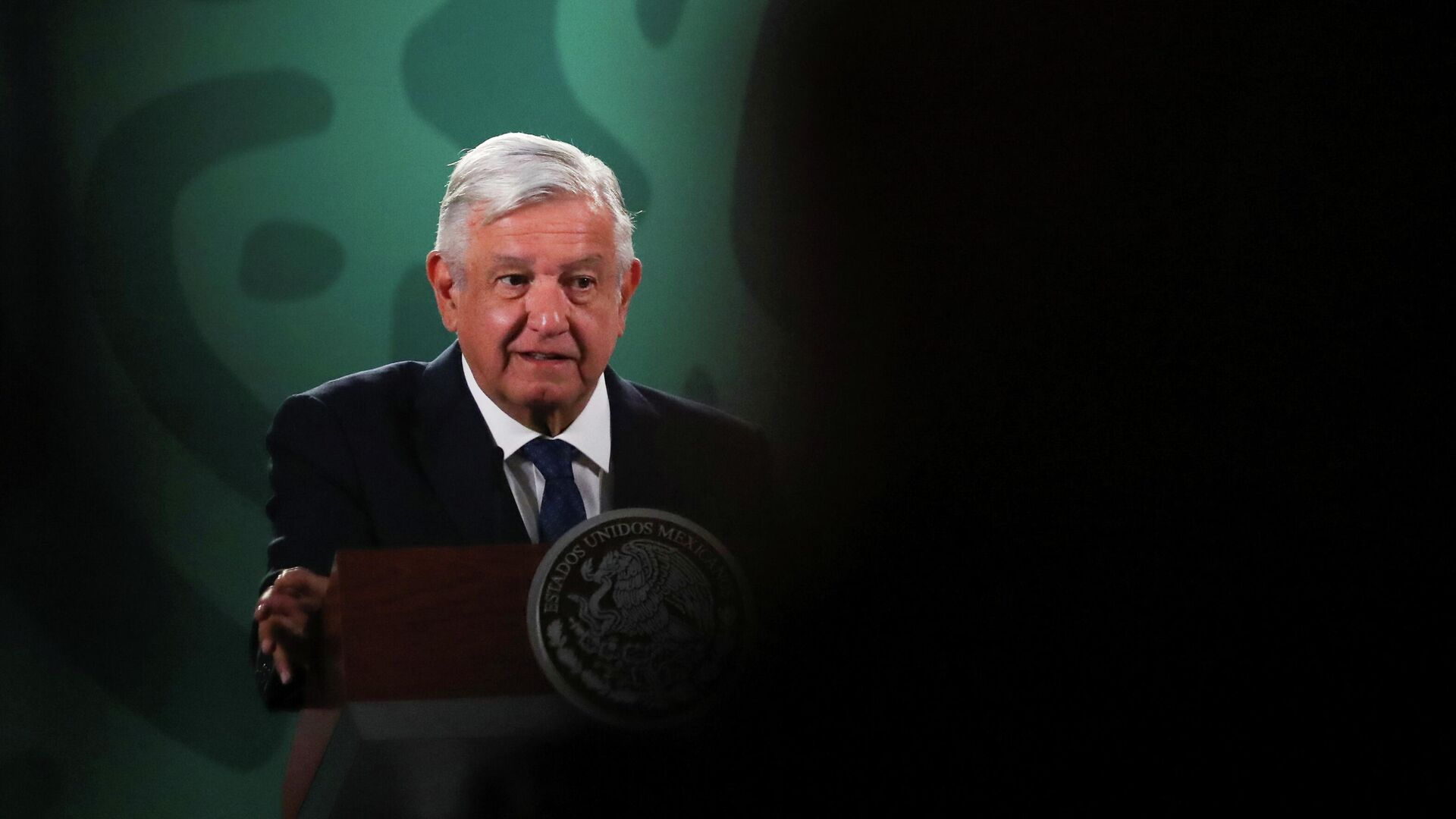El presidente de México, Andrés Manuel López Obrador - Sputnik Mundo, 1920, 21.04.2021