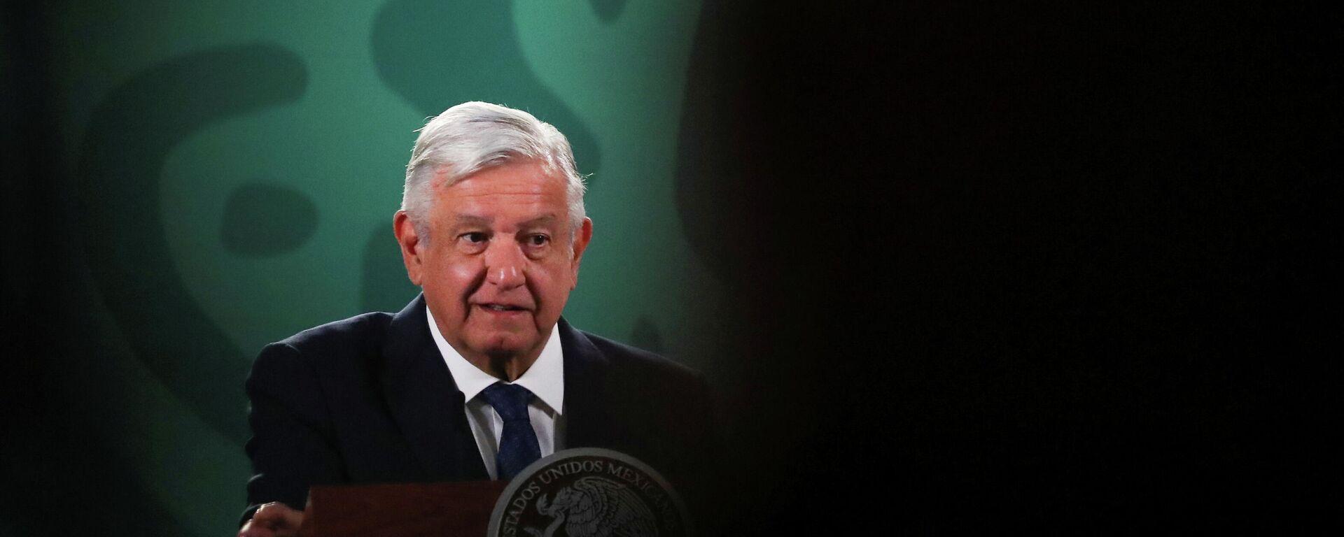 El presidente de México, Andrés Manuel López Obrador - Sputnik Mundo, 1920, 14.05.2021