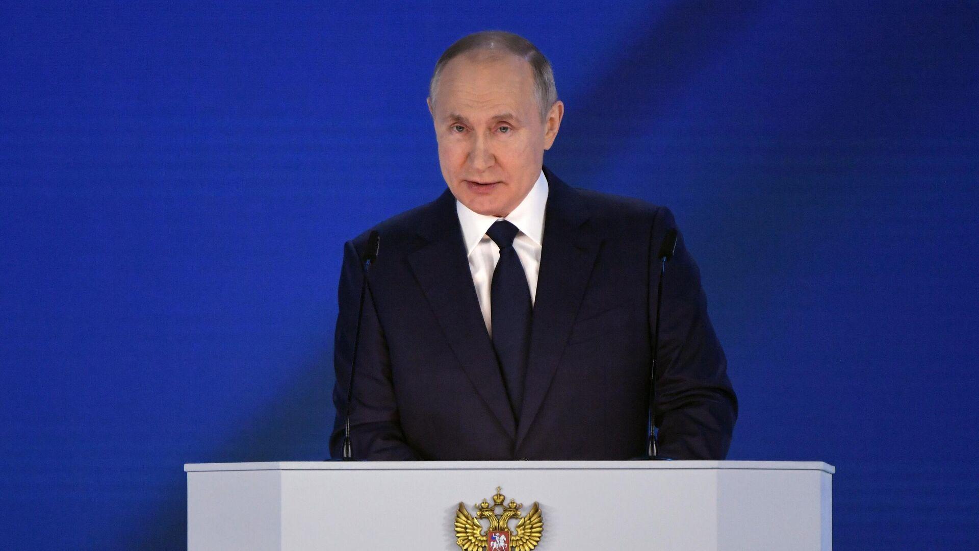 El presidente ruso, Vladímir Putin - Sputnik Mundo, 1920, 23.06.2021