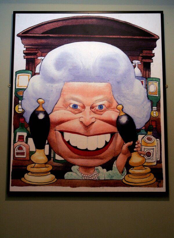 Una imagen de Isabel II en el Museo de la Animación de Londres, en el Reino Unido. - Sputnik Mundo