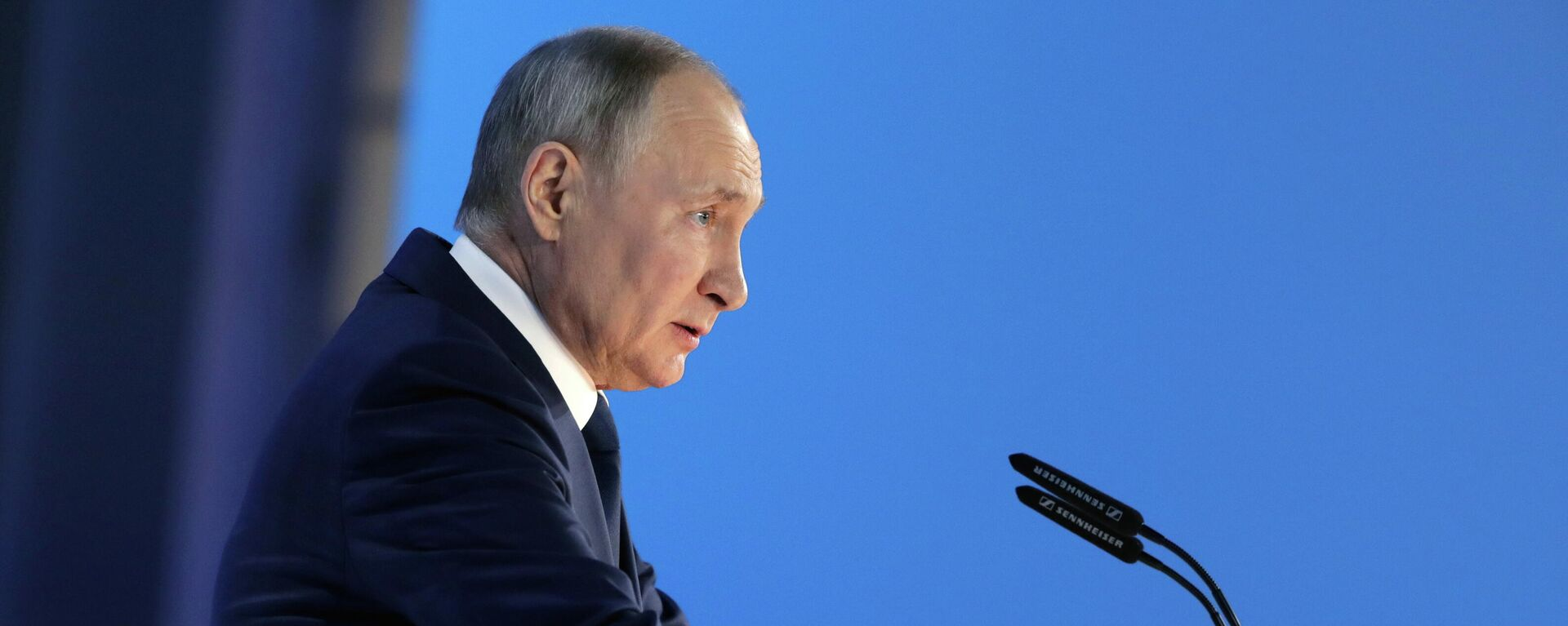 El presidente de Rusia, Vladímir Putin, dirige su mensaje anual a la Asamblea Federal - Sputnik Mundo, 1920, 07.06.2021