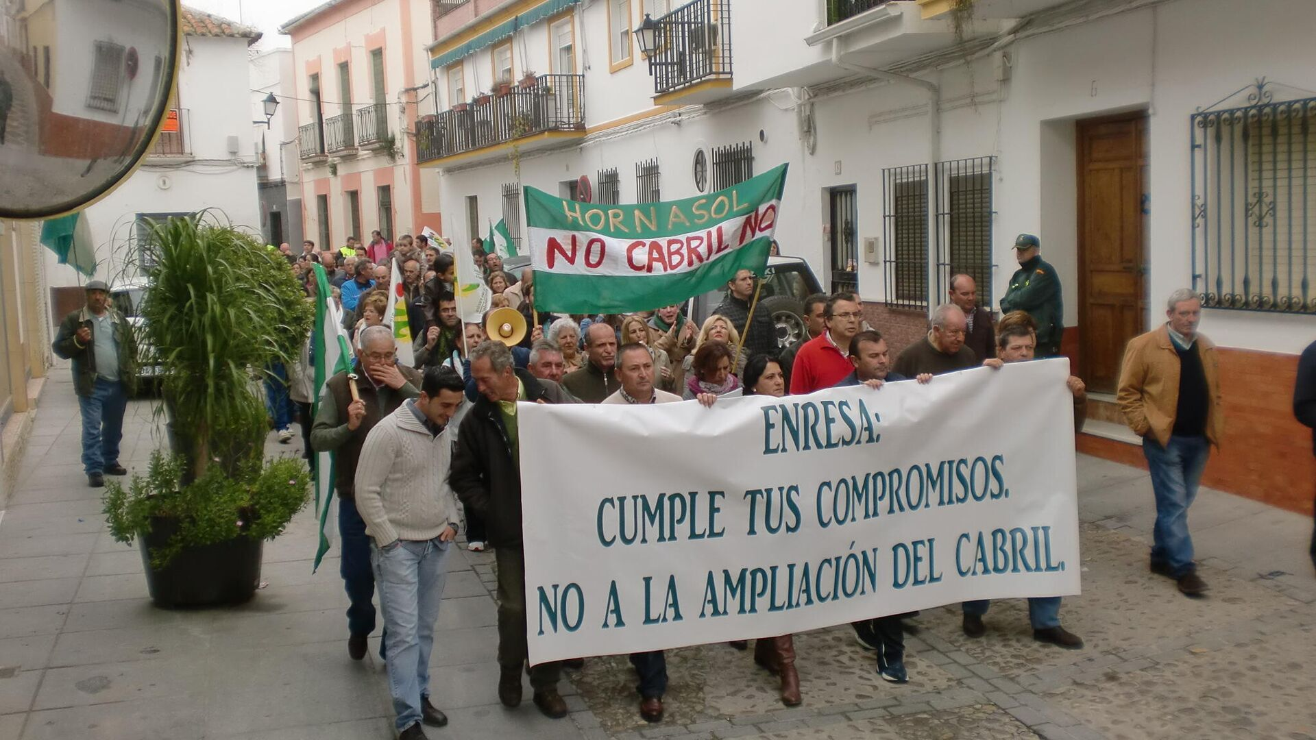 Un manifestación en Hornachuelos contra El Cabril  - Sputnik Mundo, 1920, 21.04.2021