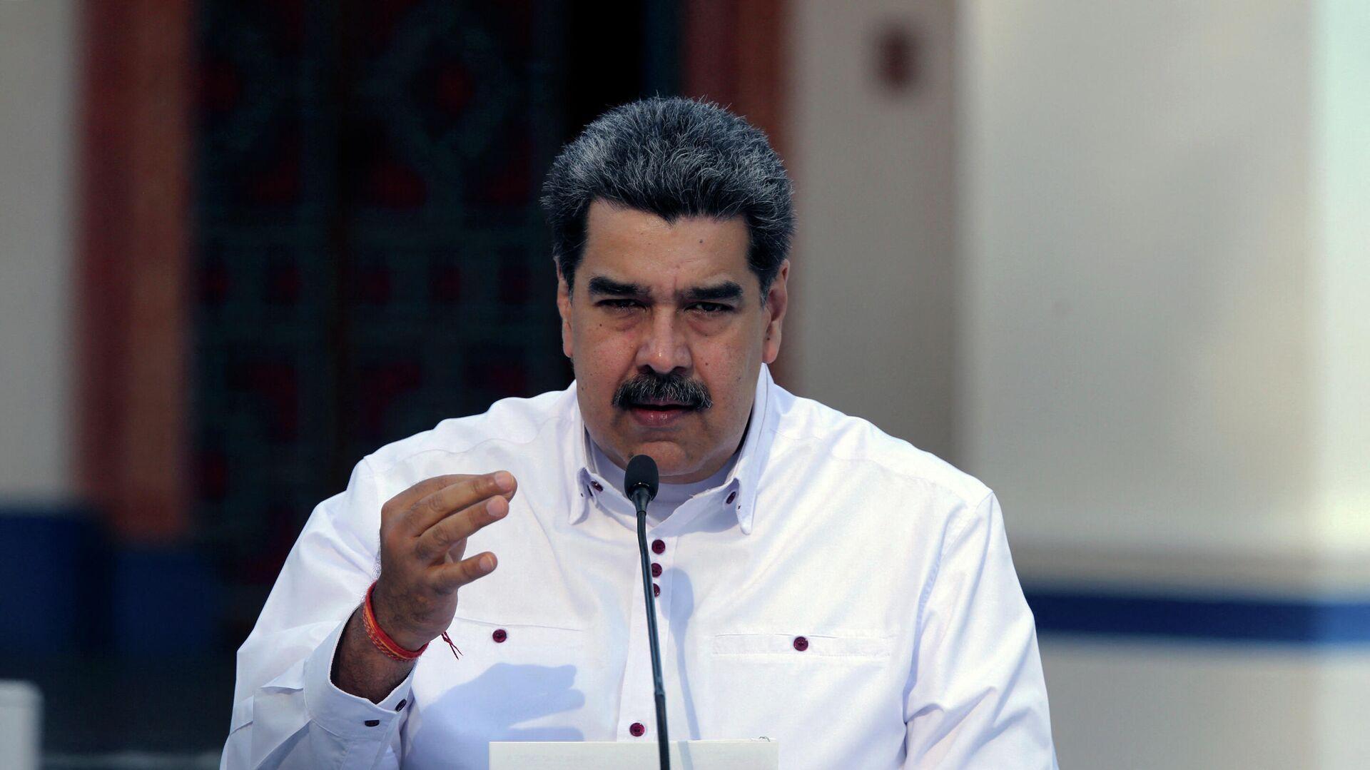 Nicolás Maduro, presidente de Venezuela - Sputnik Mundo, 1920, 21.04.2021