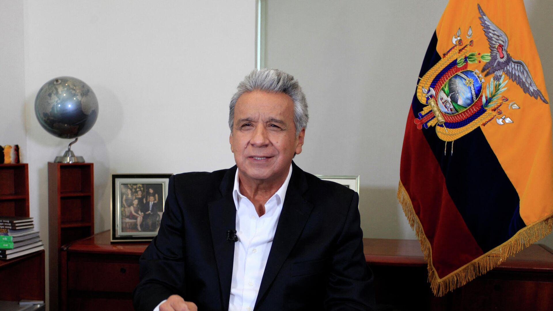 Lenín Moreno, presidente de Ecuador - Sputnik Mundo, 1920, 22.04.2021