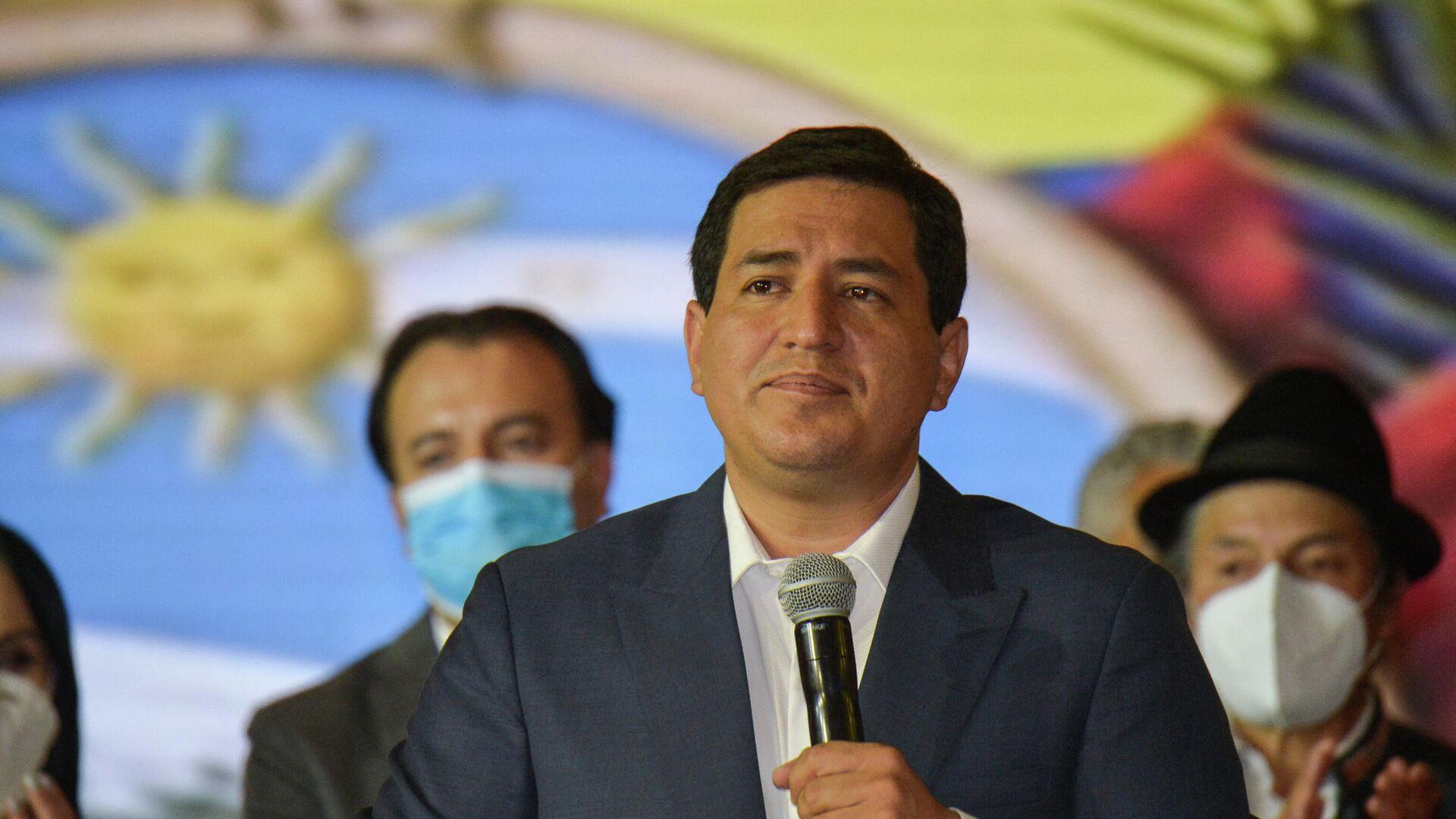 Andrés Arauz, candidato a la presidencia de Ecuador - Sputnik Mundo, 1920, 22.04.2021