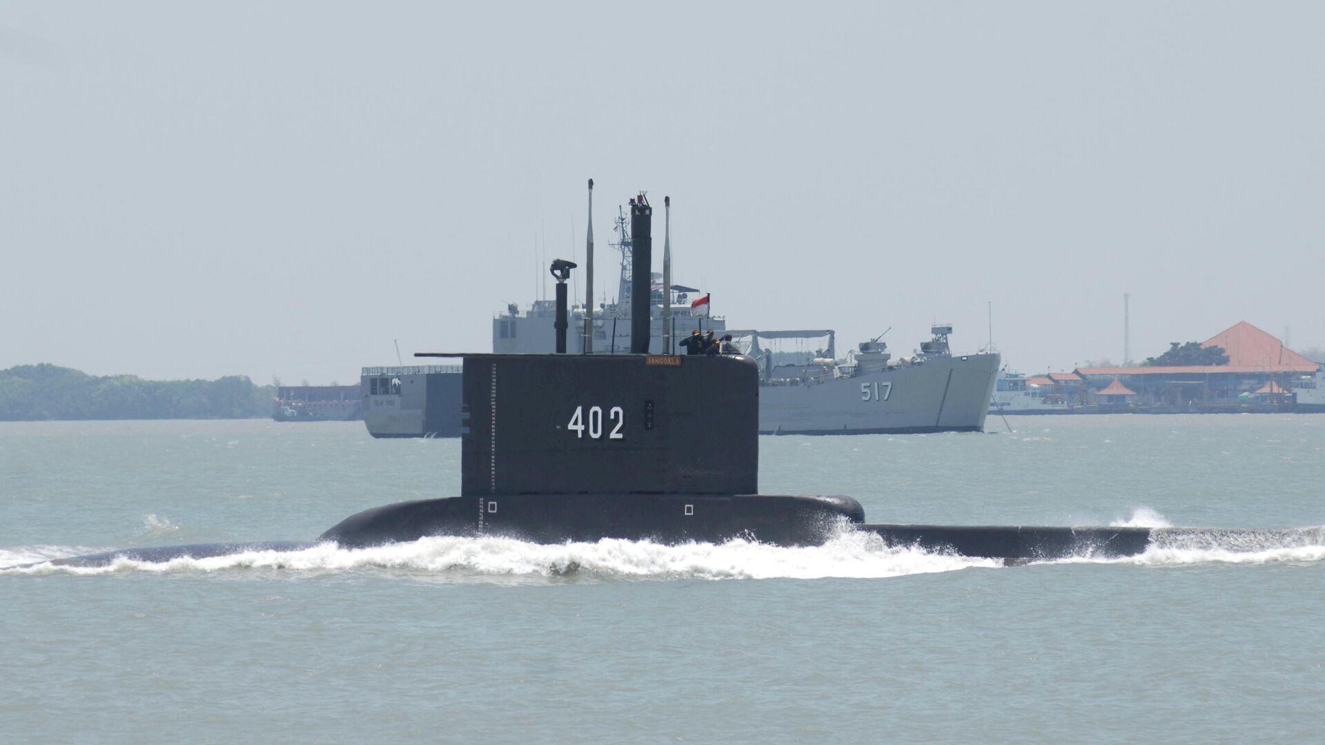 Submarino indonesio desaparecido - Sputnik Mundo, 1920, 22.04.2021