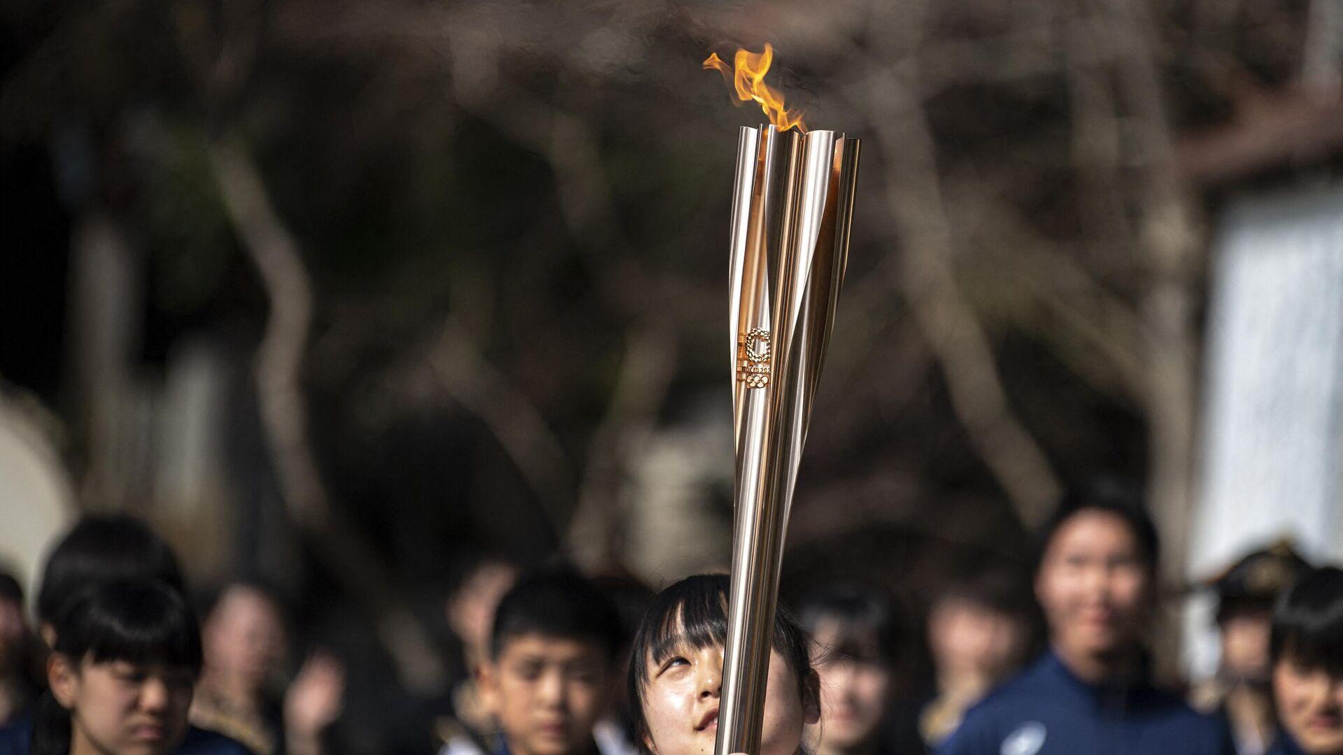 La antorcha de los Juegos Olímpicos de Tokio 2020 - Sputnik Mundo, 1920, 22.04.2021