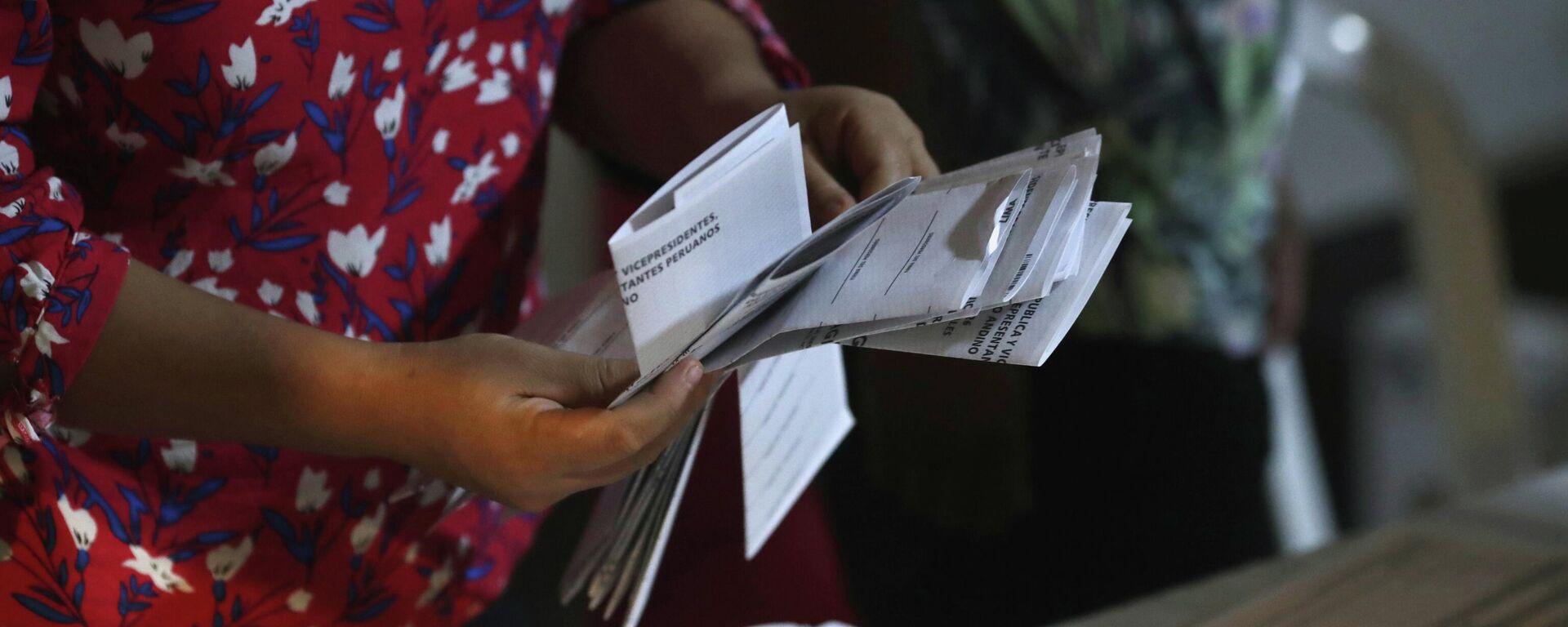 Elecciones en Perú - Sputnik Mundo, 1920, 22.04.2021