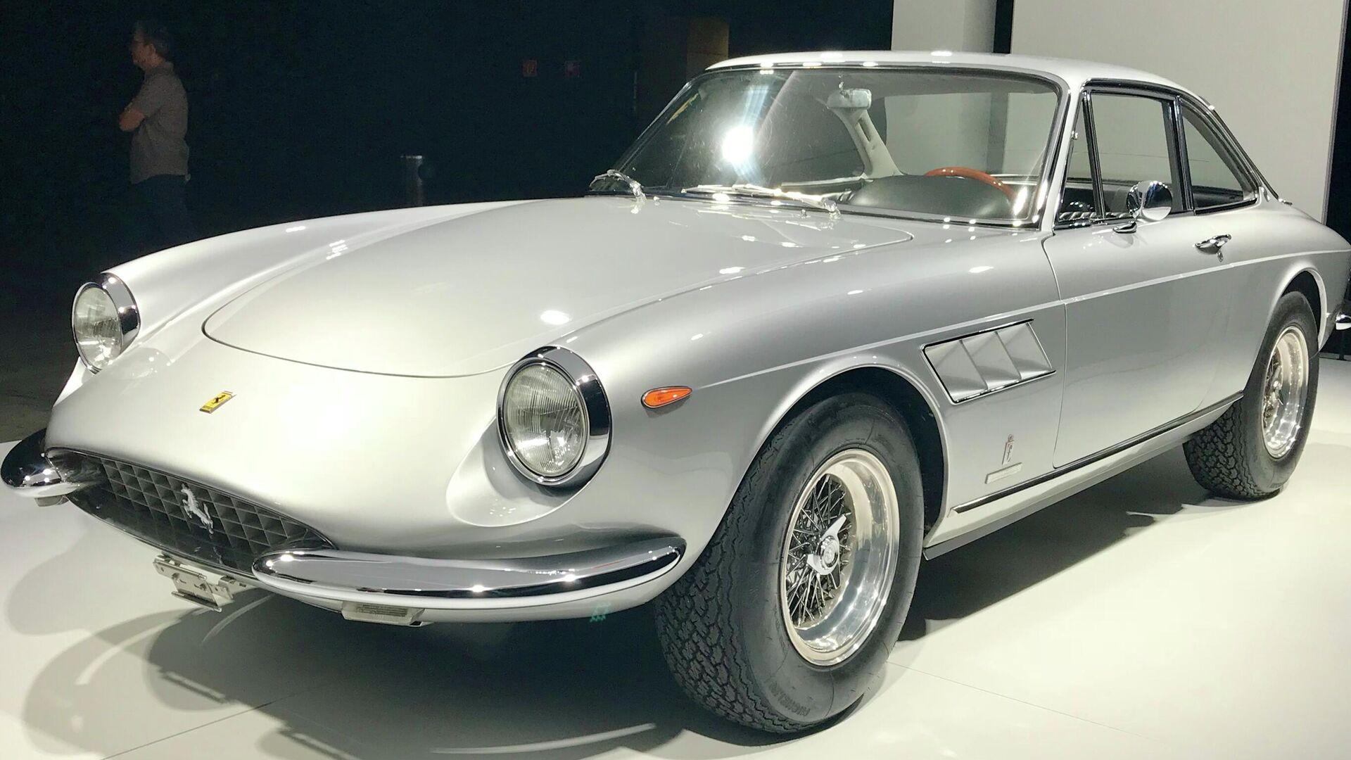 3. Ferrari 330 GTC Speciale 1967 (61,15% alineado con la proporción áurea) - Sputnik Mundo, 1920, 22.04.2021