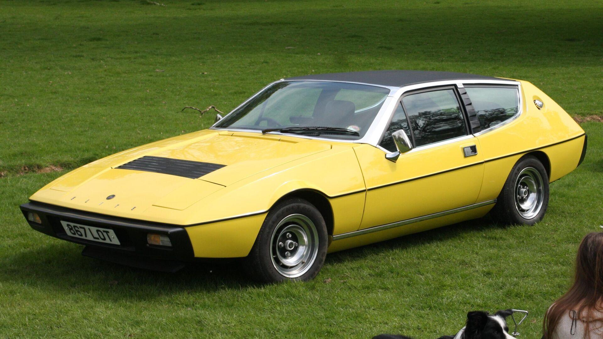 4. Lotus Elite 1974 (60,07% alineado a la proporción áurea) - Sputnik Mundo, 1920, 22.04.2021