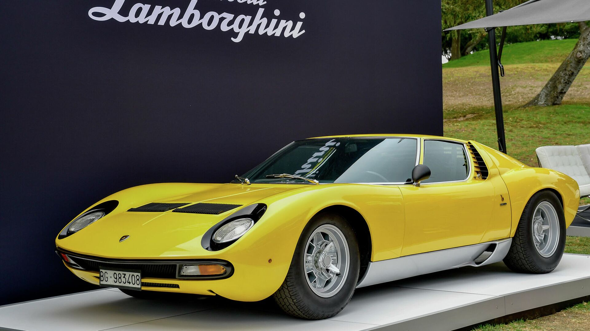 9. Lamborghini Miura 1966 (57,83% alineado con la proporción áurea) - Sputnik Mundo, 1920, 22.04.2021