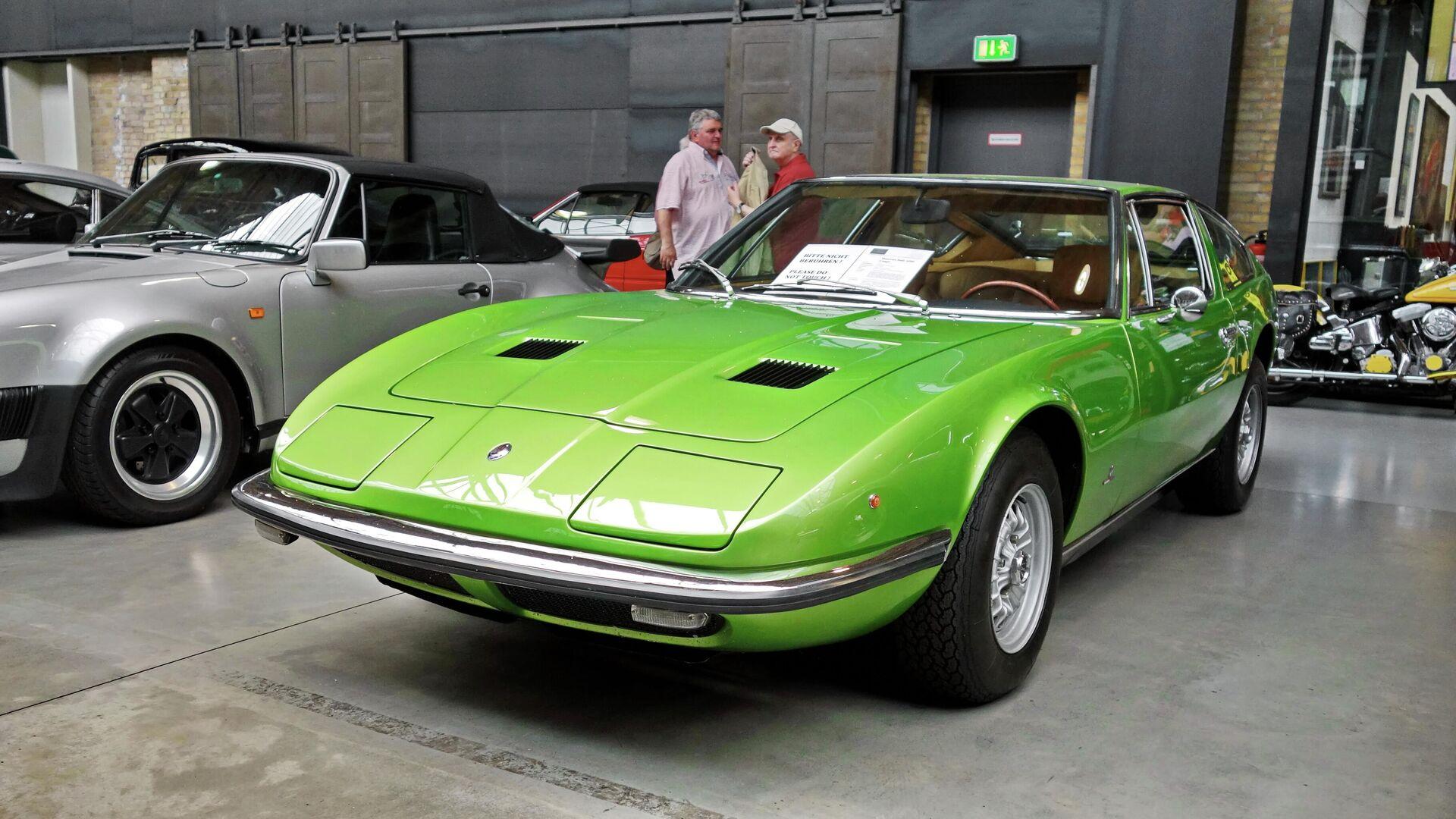 10. Maserati Indy 1969 (57,75% alineado con la proporción áurea) - Sputnik Mundo, 1920, 22.04.2021