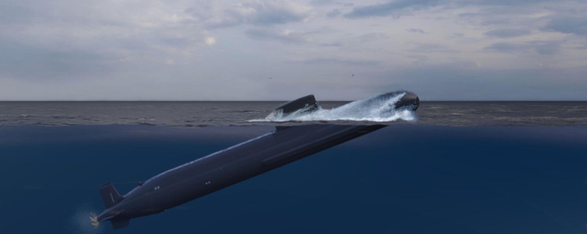 Recreación de uno de los submarinos S-80 - Sputnik Mundo, 1920, 22.04.2021